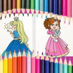 Beautiful Princess Coloring Book