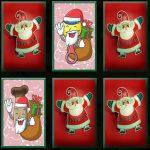 Christmas Mascots Memory