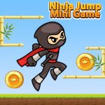 Ninja Jump Mini Game