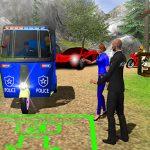 Police Auto Rickshaw Taxi Game