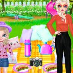 Princess Family Picnic Day