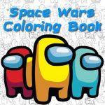 Space Wars Cartoon Coloring